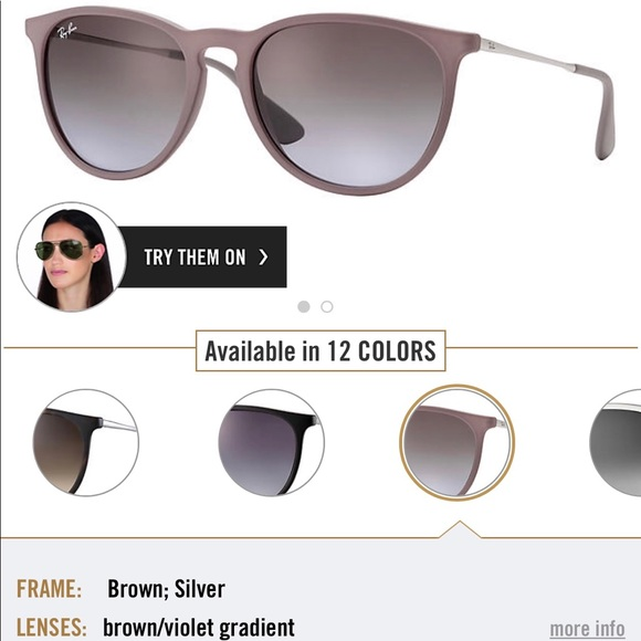 34f6a831fb Ray-Bay Erika in Brown Silver